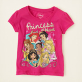 Children's Place Princess at heart graphic tee