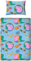 Peppa Pig Roar Toddler Duvet and Bedding Bundle Set