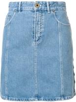 Chloé High Waisted Denim Skirt