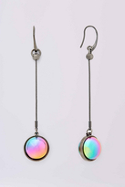 Diane von Furstenberg Rainbow Ball Drop Linear Earring