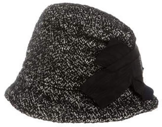 7c2bd24ee Tweed Bucket Hat Black Tweed Bucket Hat