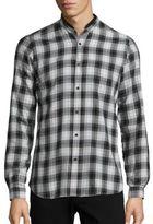 The Kooples Long Sleeve Plaid Sportshirt