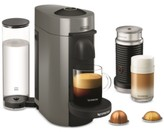 De'Longhi Nespresso Vertuo Plus Coffee and Espresso Maker by with Aerocinno, Gray