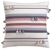 Cupcakes And Cashmere Tassel Stripe Accent Pillow