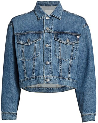 AG Jeans Mirah Cropped Trucker Jacket