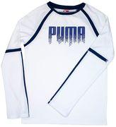 Puma Boys 8-20 Colorblock Tee