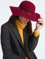 Marks and Spencer Pure Wool Floppy Winter Hat with ThinsulateTM
