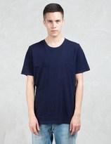 Denham Jeans Signature Indigo Fleck S/S T-Shirt