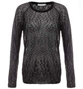 Dagmar Clem Black Holiday Woven Top