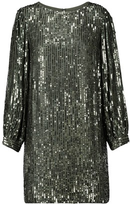 Velvet Tristie sequinned minidress