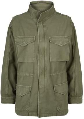 Frame Cotton Service Jacket