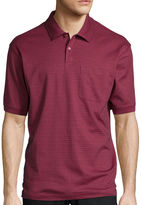 Haggar Short Sleeve Minibox Polo