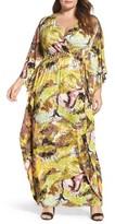 Melissa McCarthy Plus Size Women's Jersey Maxi Dress