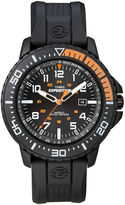 Timex Expedition Mens Black Resin Strap Watch