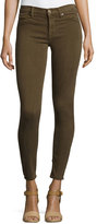 Hudson Nico Mid-Rise Skinny Jeans, Incognito Green