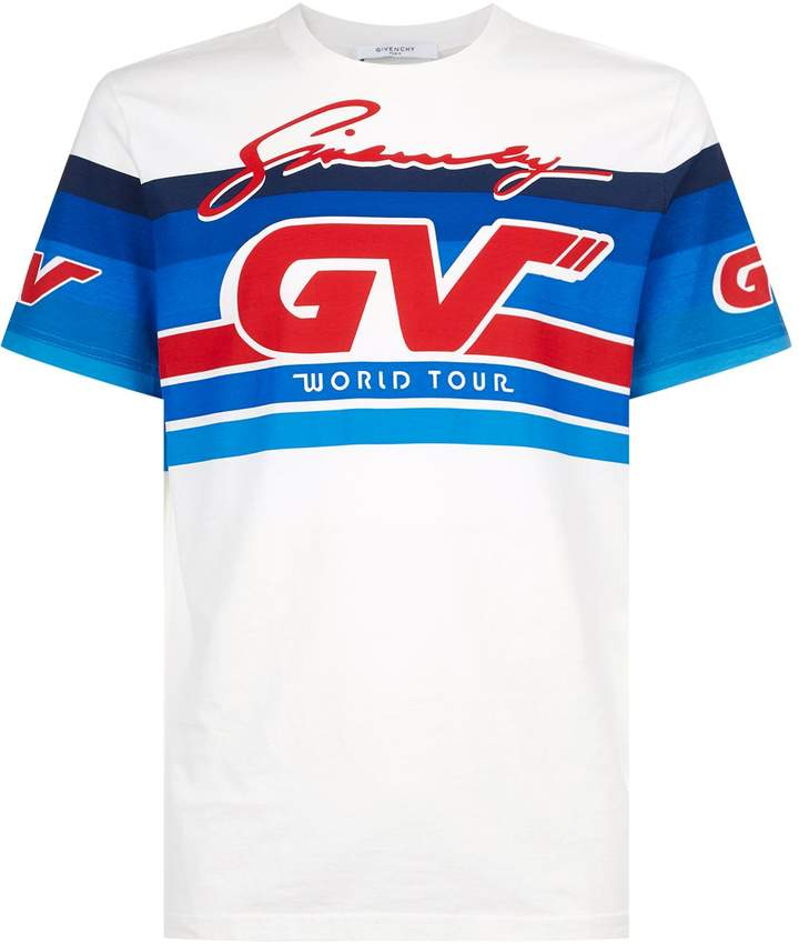 Givenchy Motocross Logo Printed T-Shirt