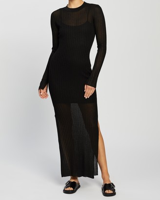 Bec & Bridge Wren LS Midi Dress