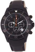 Ice Watch Ice-Watch Men's Chrono CH.BK.B.L.11 Calf Skin Quartz Watch with Dial