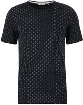 Minimum Delta Print Tshirt Dark Navy