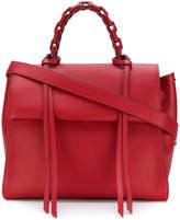 Elena Ghisellini flap satchel