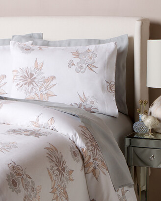 Belle Epoque Misto Linen Flower Duvet Set & Sham Coordinates