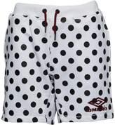 Umbro X HOH Polka Dot With Flock Shorts White