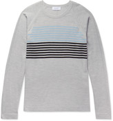 Enlist - Striped Merino Wool Sweater