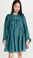 Thumbnail for your product : Sea Adrienne Cotton Puff Sleeve Tunic Dress