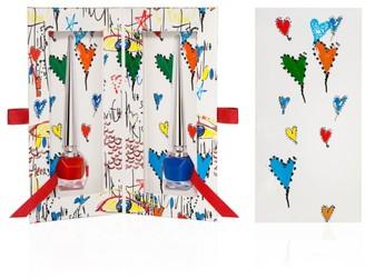 Christian Louboutin Loubitag Nail Collection Two-Piece Set
