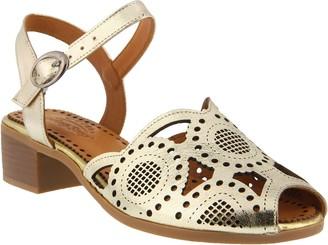 Spring Step Leather Sandals - Laverra