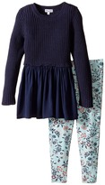 Splendid Littles Sweater Top and All Over Print Leggings (Toddler)