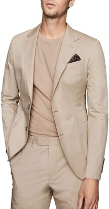 Reiss Scholar Notch Collar Double Button Jacket