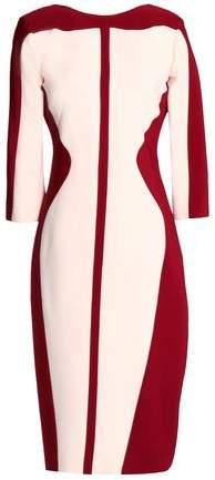 Antonio Berardi Two-Tone Crepe Dress
