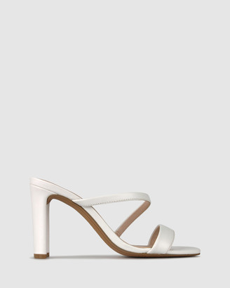 betts Women's Strappy sandals - Skyler Skinny Block Heel Mules - Size One Size, 6 at The Iconic