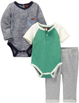 7 For All Mankind Pant 3-Piece Set (Baby Boys)