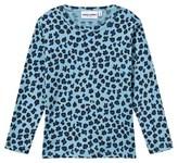 Mini Rodini Leopard Tee Blue