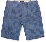Alex Mill - Slim-fit Patchwork Cotton-dobby Shorts