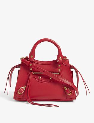 Balenciaga City Neo mini leather bag