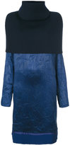 Maison Margiela contrast panelled knitted dress - women - Acetate/Viscose/Wool - 40