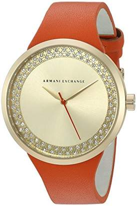 Armani Exchange Women's AX6012 Leather Watch