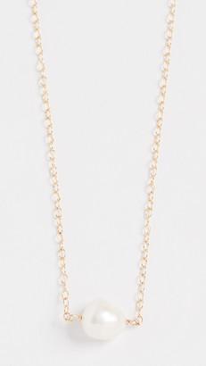 Maison Monik Single Pearl Necklace