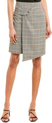 BA&SH Grena Wool-Blend Pencil Skirt