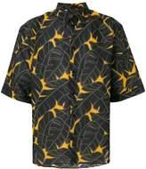 MSGM jungle print shirt
