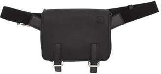 Loewe Black Military Bum Bag
