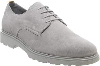 Ask the Missus Lightweight Derby Shoes Grey Suede