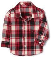 Gap Love plaid shirt