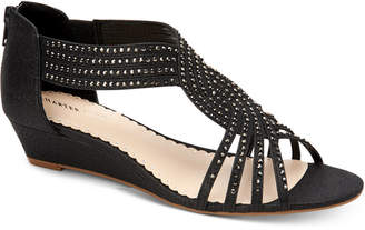 Charter Club Ginifur Wedge Sandals, Women Shoes