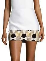 Versace Gonna Tessuto Mini Skirt