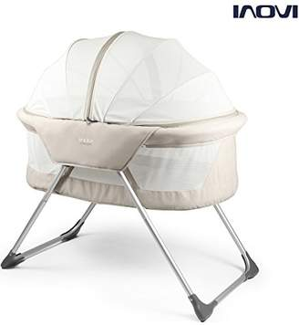 Cocoon Inovi Folding Moses Crib Travel Cot Biege