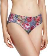 Panache Women's Floris Brief (Grey Mix) Size 20